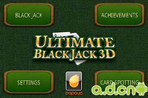 二十一點(黑傑克) Ultimate BlackJack v3.0.1-Android棋牌游戏類遊戲下載