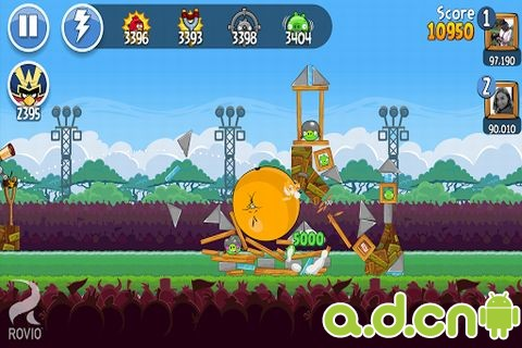 憤怒鳥 朋友版 Angry Birds Friends v1.1.0-Android益智休闲遊戲下載