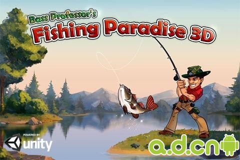 釣魚天堂3D Fishing Paradise 3D v1.0.9-Android模拟经营免費遊戲下載