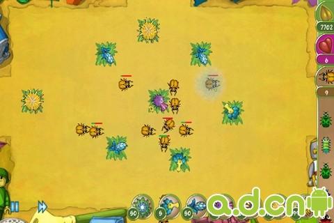 蟲子突擊 Bug Rush v1.25-Android策略塔防免費遊戲下載