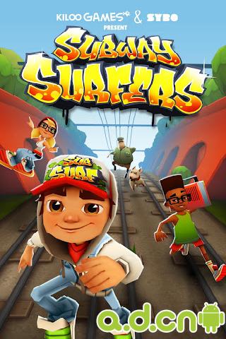 《地铁跑酷 Subway Surfers》