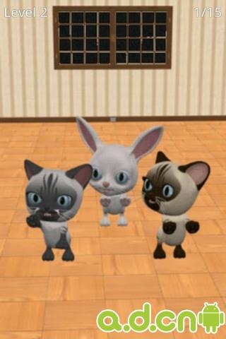 幼儿表演小猫的发型步骤