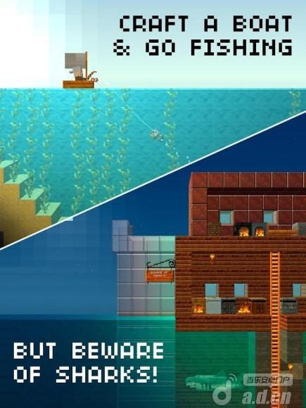 木頭人大建造(含數據包) The Blockheads v1.4-Android益智休闲免費遊戲下載
