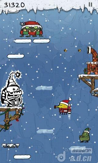 《涂鸦跳跃圣诞2013版 Doodle Jump Christmas Special》