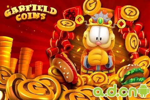 《加菲猫推金币 Garfield Coins》