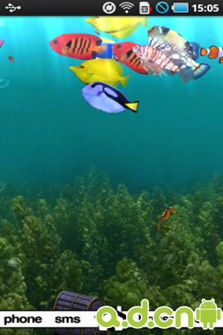 3d海底世界动态壁纸完整版