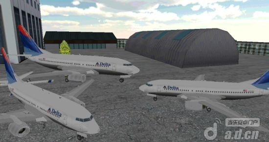 3D飞机停泊 Airplane Parking v1.3 Android竞速游戏类游戏下载高清图片