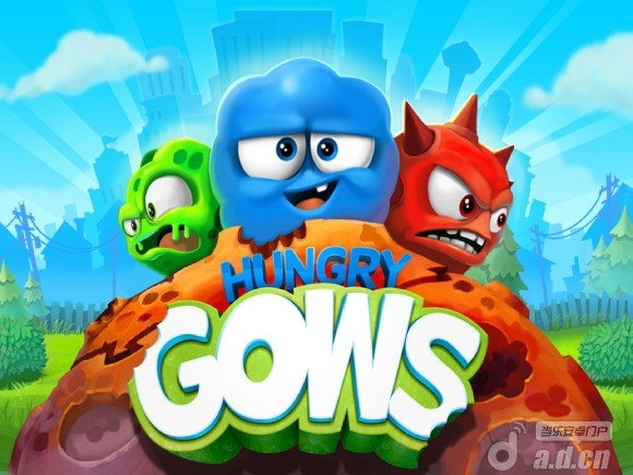 飢餓的外星人(含數據包) Hungry Gows v1.3-Android益智休闲免費遊戲下載