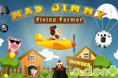 瘋狂吉米- 飛天農民v2.1,Mad Jimmy – Flying Farmer