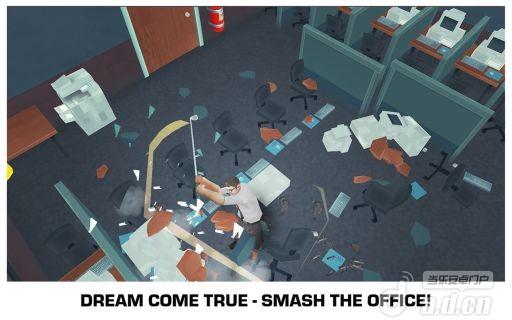 粉粹辦公室修改版Smash the Office – Stress Fix! v1.3-Android益智休闲免費遊戲下載