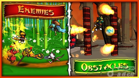 忍者貓凱蒂 Ninja Kitty v1.01-Android动作游戏免費遊戲下載