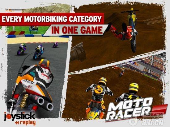 摩托英豪完整版(含數據包) Moto Racer 15th Anniversary v1.0-Android竞速游戏免費遊戲下載