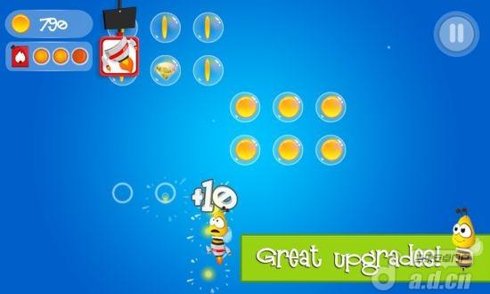 忙碌的小蜜蜂 BusyBee Sky Kingdoms v1.1.2-Android益智休闲類遊戲下載