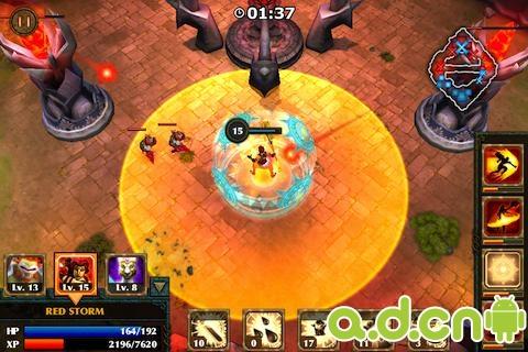 英雄傳說 Legendary Heroes v1.8.7-Android策略塔防免費遊戲下載