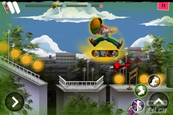 街頭跑酷 Skater 3D v1.0.5-Android动作游戏類遊戲下載