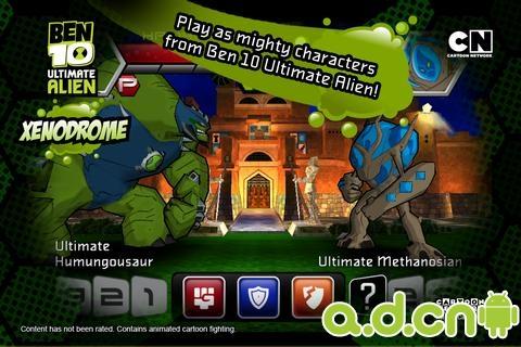 Ben 10 終極英雄: Xenodrome Ben 10 Ultimate Alien: Xenodrome v1.1.4-Android角色扮演免費遊戲下載