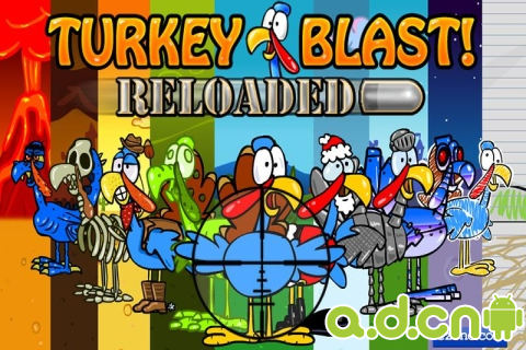 火雞獵殺:重裝上陣Turkey Blast: Reloaded v1.2-Android射击游戏類遊戲下載