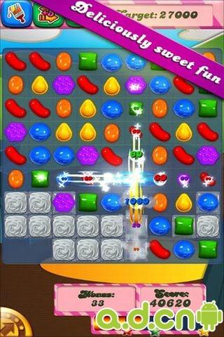 糖果粉碎傳奇 Candy Crush Saga v1.19.0-Android益智休闲免費遊戲下載