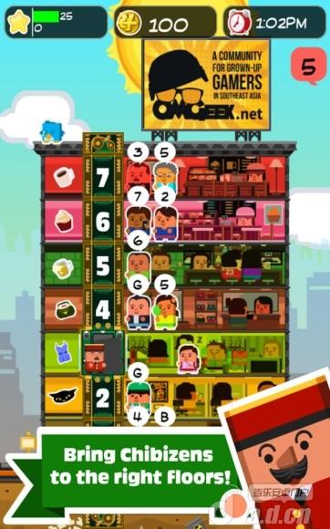 電梯先生 Elevator Joe v1.0.0-Android模拟经营免費遊戲下載