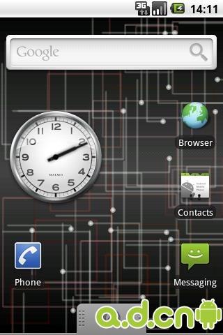 简洁电路动态壁纸cubix - live wallpaper v2.0.