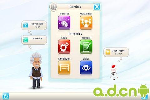 《爱因斯坦脑力锻炼 Einstein Brain Trainer HD》