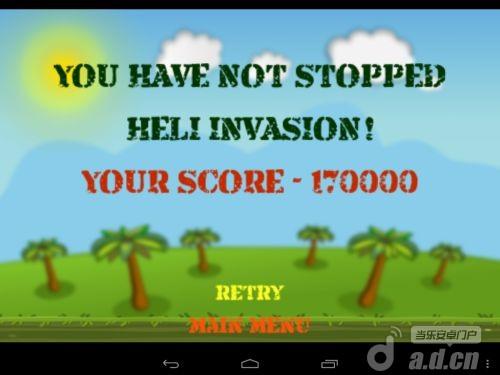 大砲直升機 Heli Invasion v1.10-Android射击游戏類遊戲下載