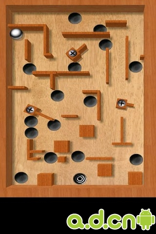 三維迷宮精簡版aTilt 3D Labyrinth Free v1.6.1-Android益智休闲免費遊戲下載