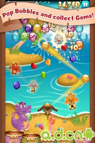 泡泡火焰 Bubble Blaze v2.9.3-Android益智休闲類遊戲下載