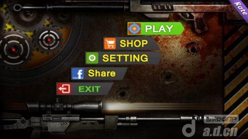 狙擊:職業殺手3D Sniper Feeling 3D v1.0.2-Android射击游戏免費遊戲下載