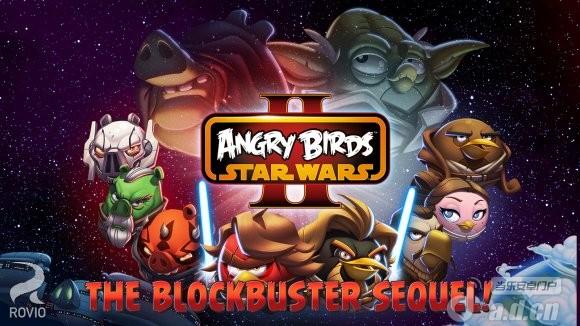 憤怒鳥星際大戰2 無廣告版Angry Birds Star Wars II v1.2.0-Android益智休闲類遊戲下載