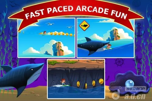 衝浪萬歲 Banzai Surfer v1.1.3-Android益智休闲免費遊戲下載