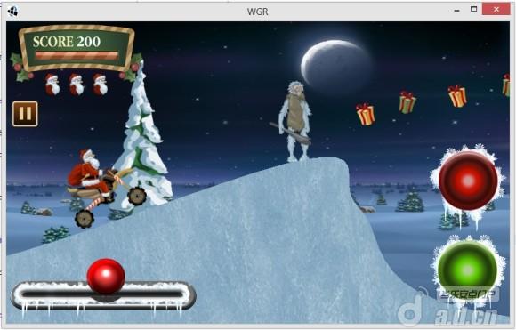 聖誕老人:騎車遊戲Santa Rider – Racing Game v1.0.1-Android益智休闲類遊戲下載