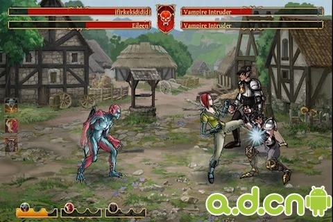 吸血鬼vs狼人 Clash of the Damned v1.3.8036-Android角色扮演免費遊戲下載