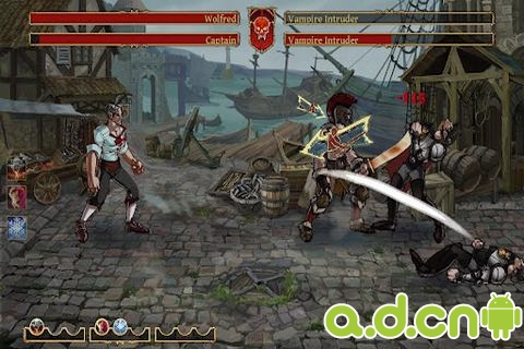 吸血鬼vs狼人 Clash of the Damned v1.3.8992-Android角色扮演類遊戲下載