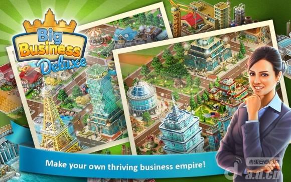 大企業 豪華版 Big Business Deluxe v1.4.1-Android模拟经营類遊戲下載