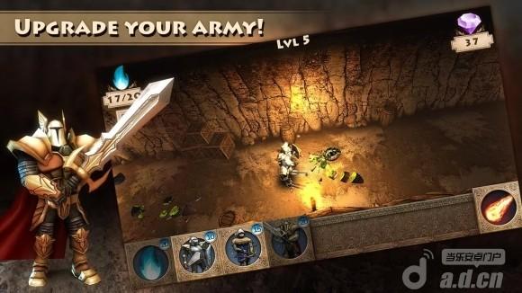 臭蟲侵入 修改版 Bugs Invasion 3D v1.3-Android策略塔防類遊戲下載