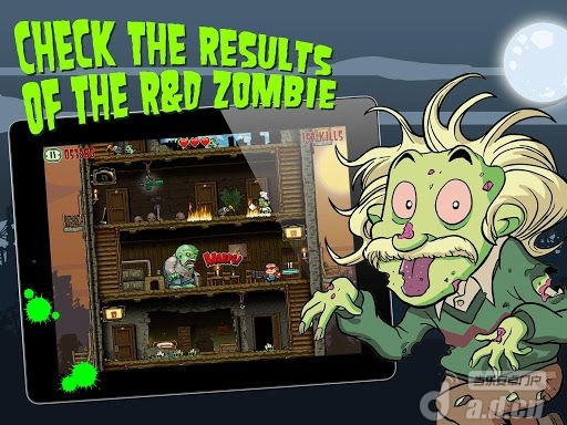 瘋狂比爾 v1.0,Crazy Bill: Zombie stars hotel