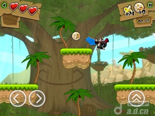 『琪巴和昆巴:叢林跳躍 Kiba & Kumba: Jungle Jump』評測:節奏明快,難度頗高