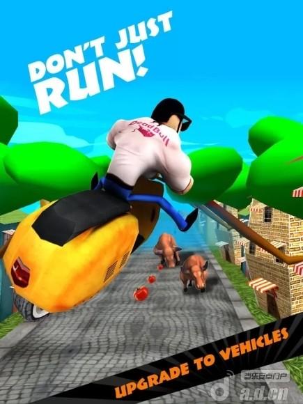 憤怒的公牛:無盡的奔跑 破解版 Agent Bull Run-Endless Racing v1.0-Android动作游戏免費遊戲下載