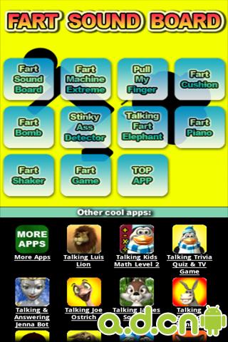 屁多 Fart Sound Board v4.0-Android益智休闲免費遊戲下載