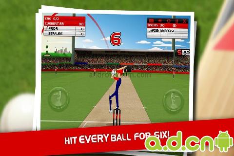 板球 Stick Cricket v1.2.3-Android体育运动免費遊戲下載