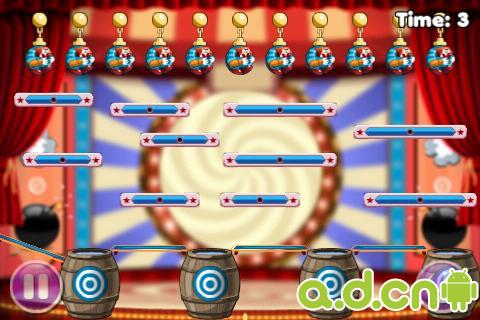 小丑跳水桶 Clowning Around Free v1.3.2-Android益智休闲免費遊戲下載