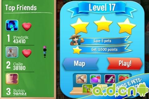 寵物大營救 Pet Rescue Saga v1.9.5.0-Android益智休闲類遊戲下載