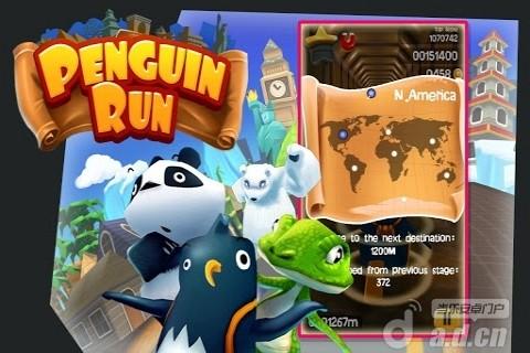 企鵝快跑 修改版 Penguin Run v1.1-Android益智休闲免費遊戲下載