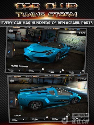 賽車俱樂部:改裝風暴Car Club:Tuning Storm v1.02-Android益智休闲免費遊戲下載