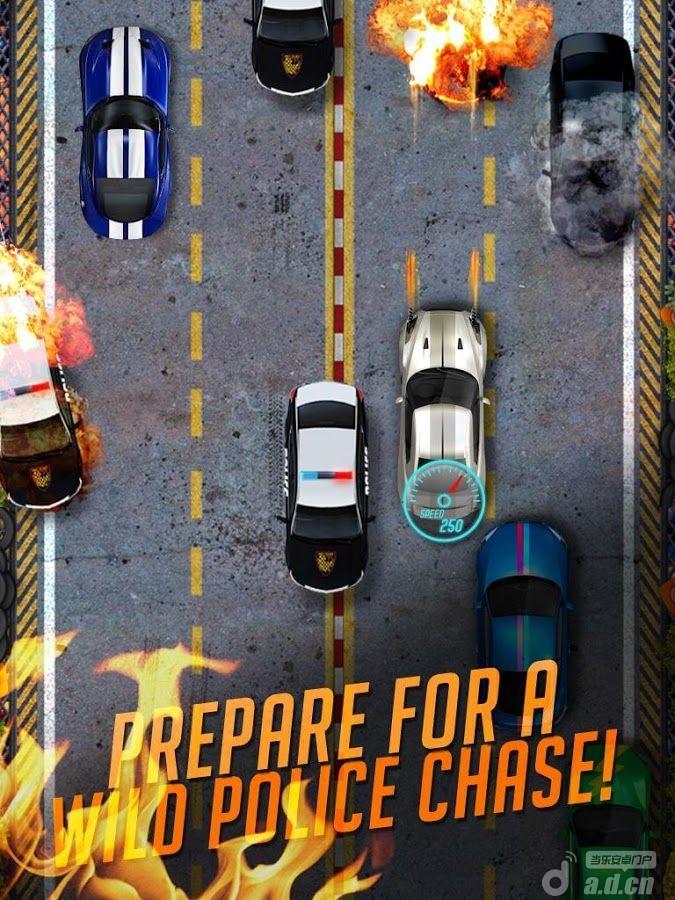 心跳公路賽 Extreme Highway Heat v1.2-Android竞速游戏類遊戲下載