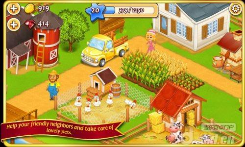 農場小鎮 Farm Town v1.24-Android模拟经营免費遊戲下載