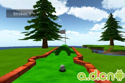 卡通迷你高爾夫球3D Cartoon mini golf game 3D v1.4-Android体育运动免費遊戲下載