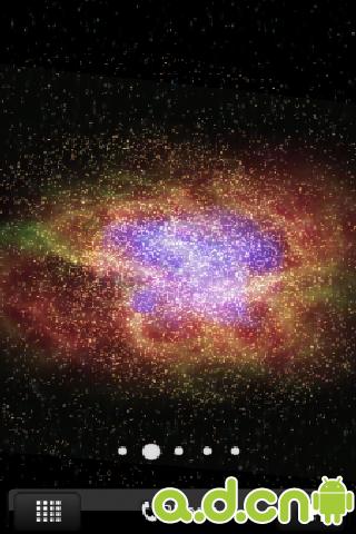 宇宙星云星座动态壁纸