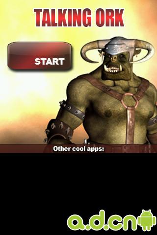 會說話的牛角怪 Talking Ork v2.7-Android益智休闲免費遊戲下載